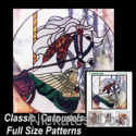 Full Size Stained Glass Patterns