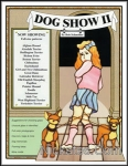 Dog Show 2 stained glass Book