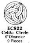Celtic Circle 9 Pcs 6 inches