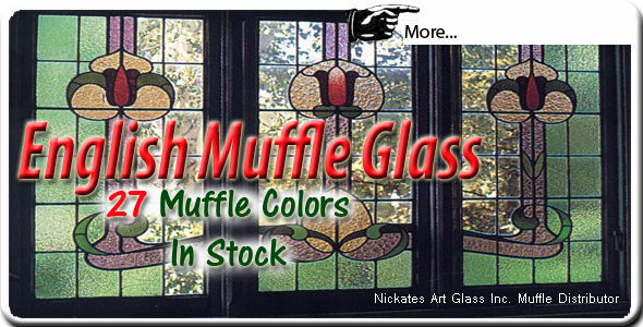 Muffle stained glass distributor Nickates