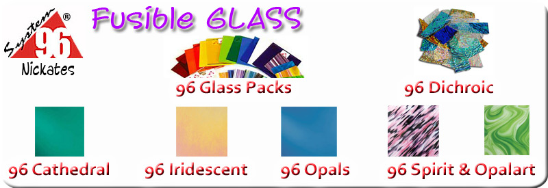 Free fused glass supplies