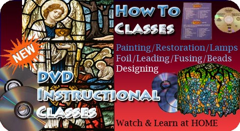How to make stained glass windows by Nickates.com