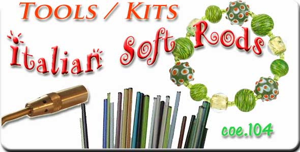 Glass bead making supplies on sale at Nickates