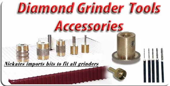 stained glass grinder parts from Nickates.com