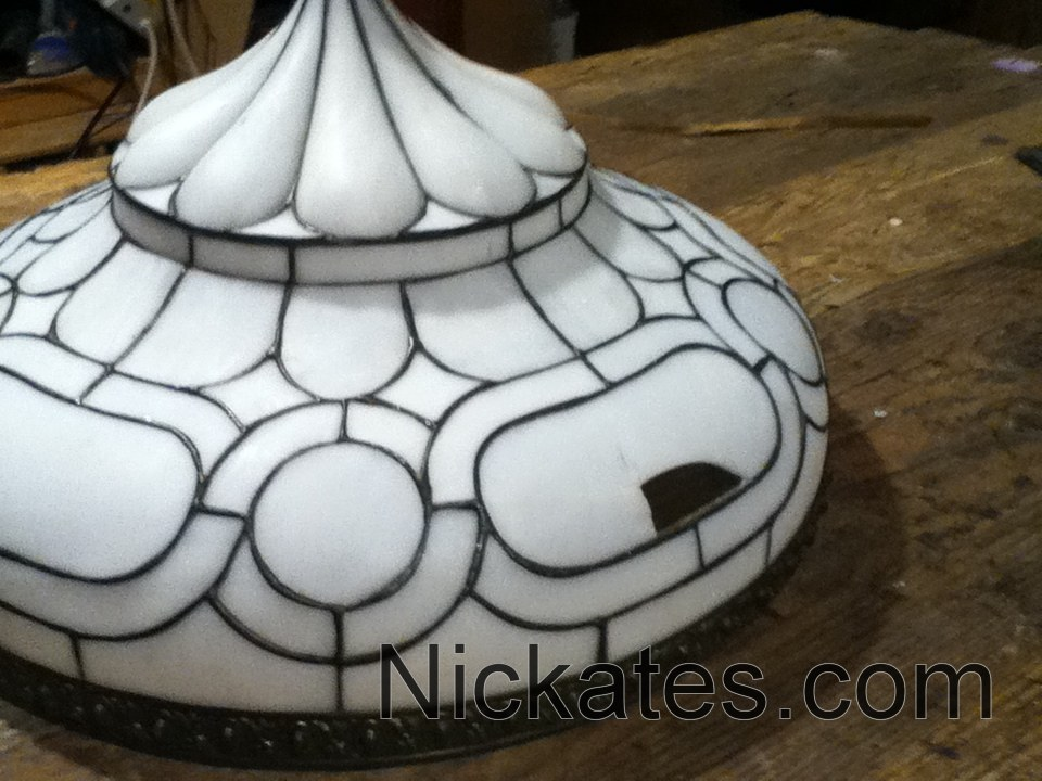 Tiffany lamp repairs 1