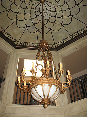 Genuine antique lighting restoration by Nickates.com