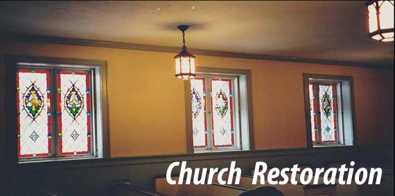 Church window resoration