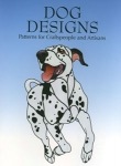 Stained glass dog design Book