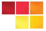 System 96 Hot Color Glass Pack(5)12x12
